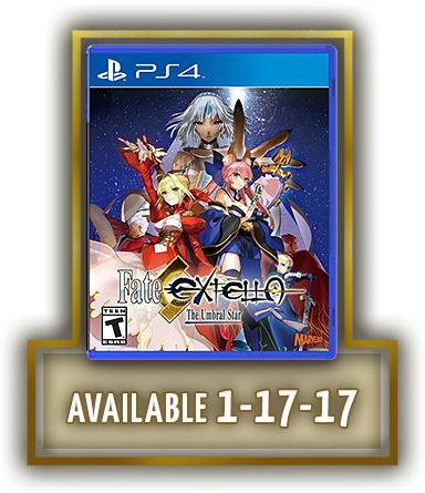 Order Fate/EXTELLA: The Umbral Star