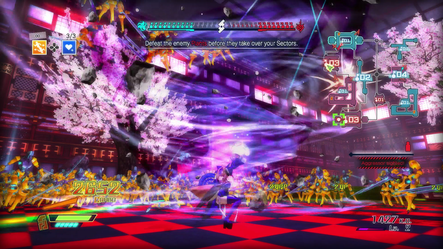 Fate/EXTELLA: The Umbral Star - High Speed Servant Action Screenshot 2