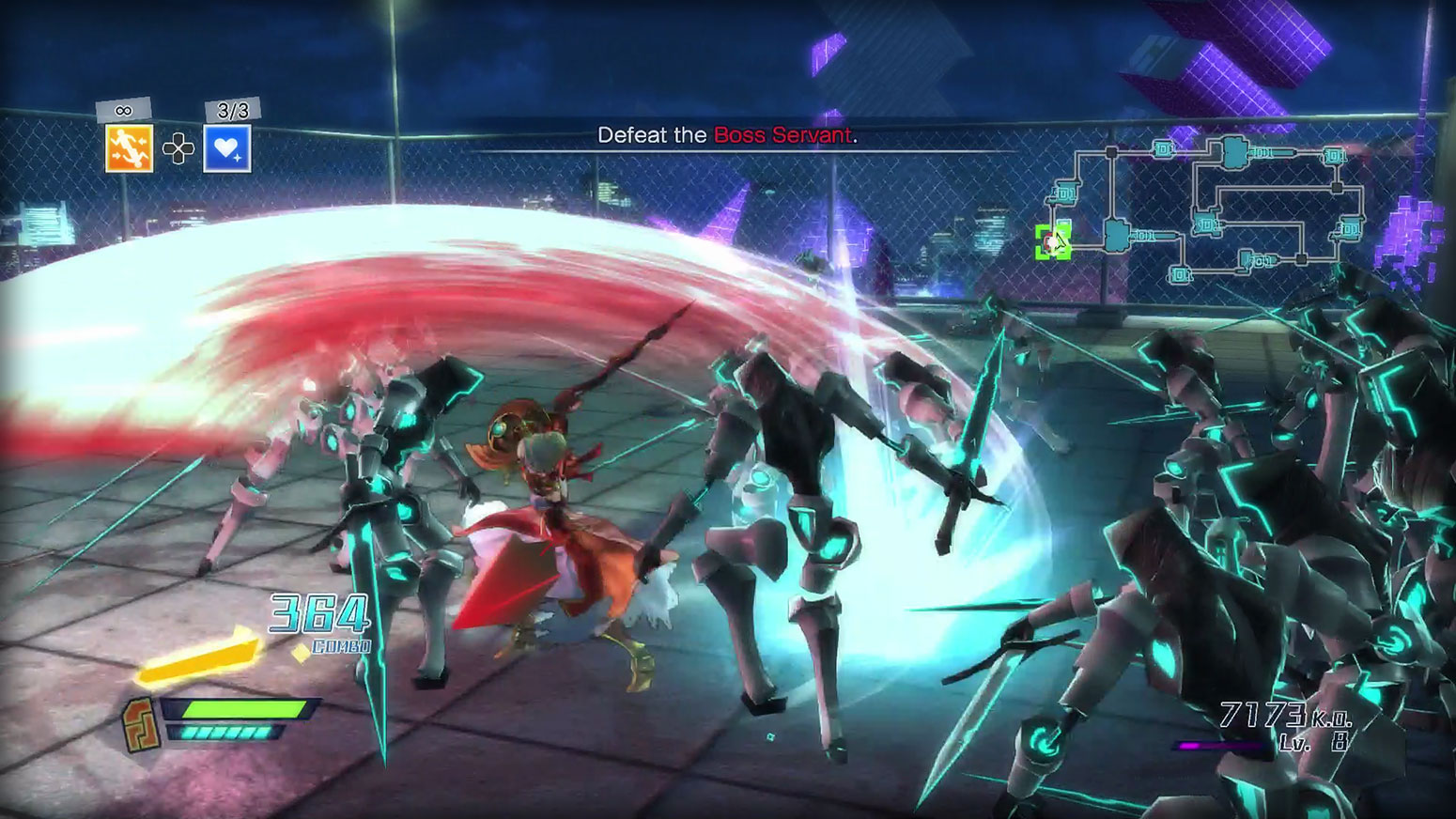 Fate/EXTELLA: The Umbral Star - High Speed Servant Action Screenshot 4