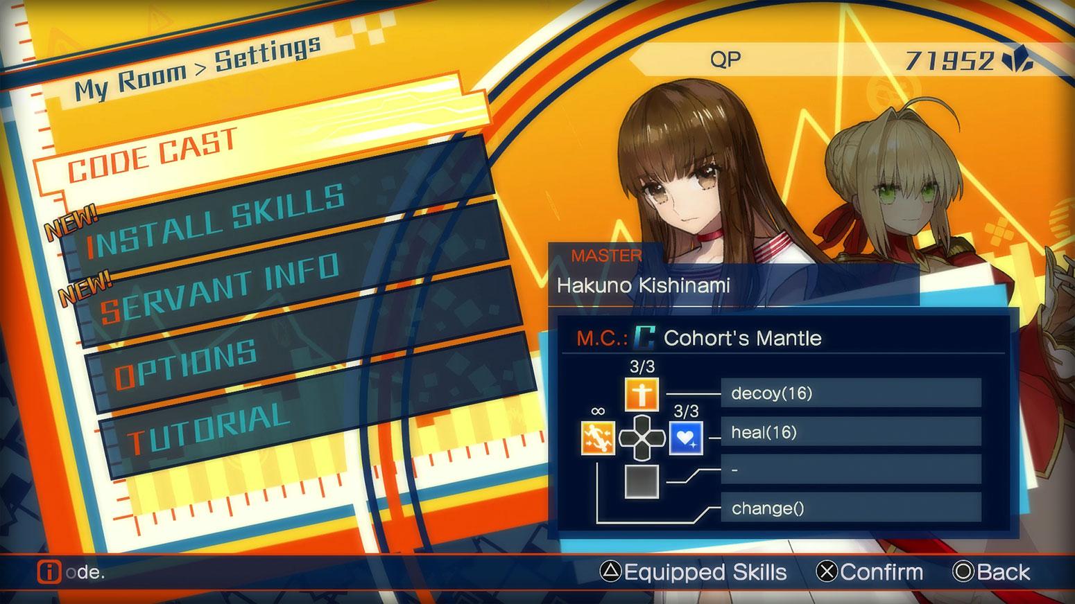 Fate/EXTELLA: The Umbral Star -  Code Cast Screenshot 1