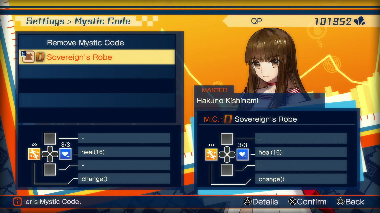 Fate/EXTELLA: The Umbral Star -  Mystic Codes Screenshot 1