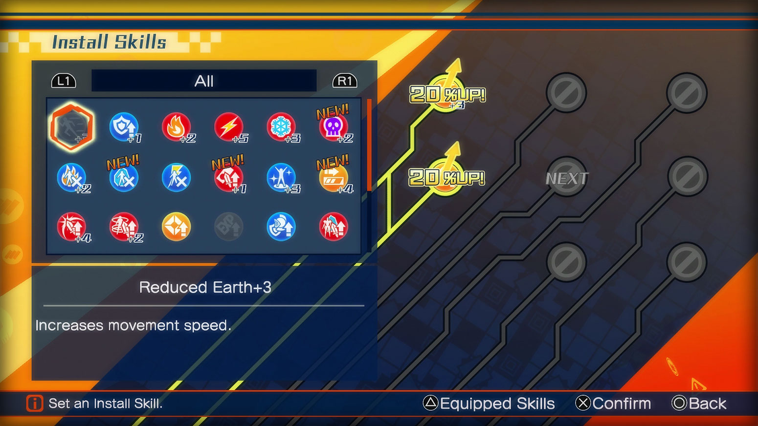 Fate/EXTELLA: The Umbral Star -  Install Skills Screenshot 1